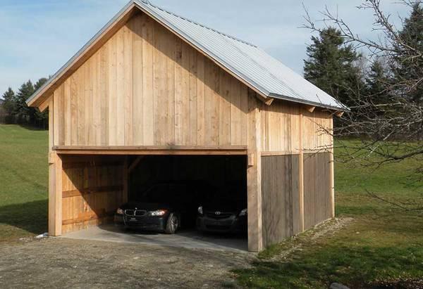 prix construction garage 15m2