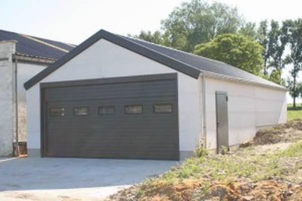 cout construction garage 40m2