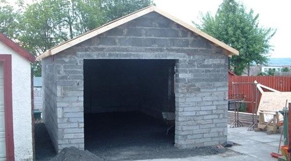 prix de construction d'un garage au m2