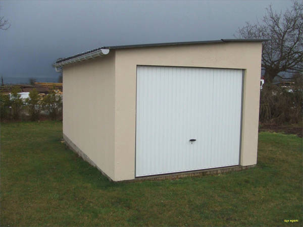 cout construction garage 50m2