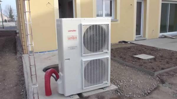 pompe a chaleur avec production d'eau chaude prix