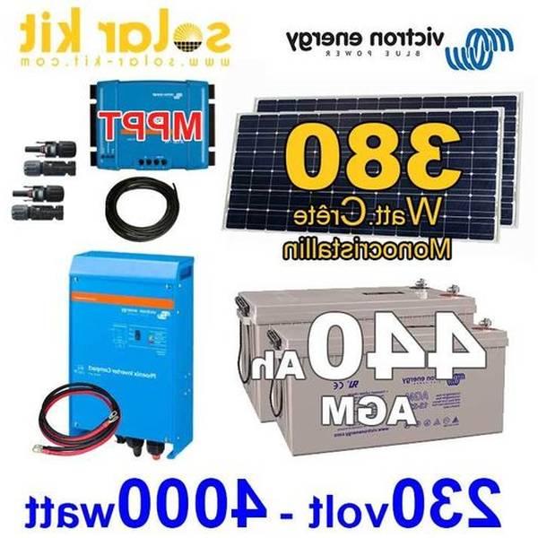 panneau solaire pour 6kw