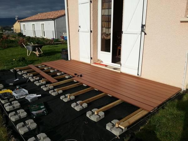prix d une terrasse en bois avec pose