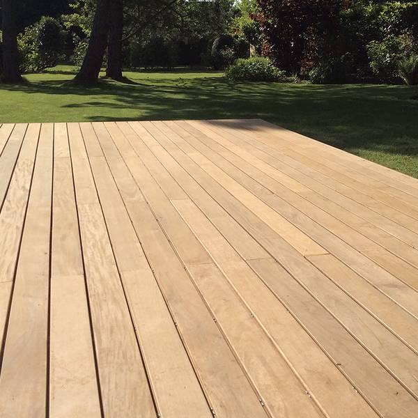 terrasse ipe bois exotique piscine