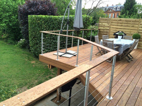 prix terrasse bois surelevée