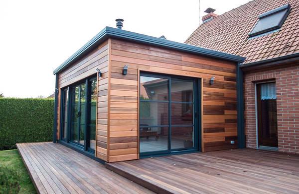 extension de maison en alu