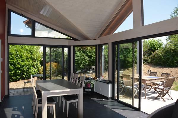 prix d une extension de maison en bois